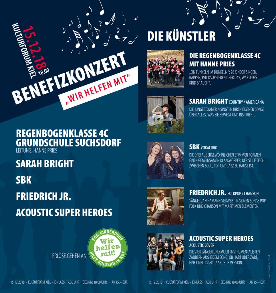Benefiz SOS Kinderdorf Kulturforum Kiel