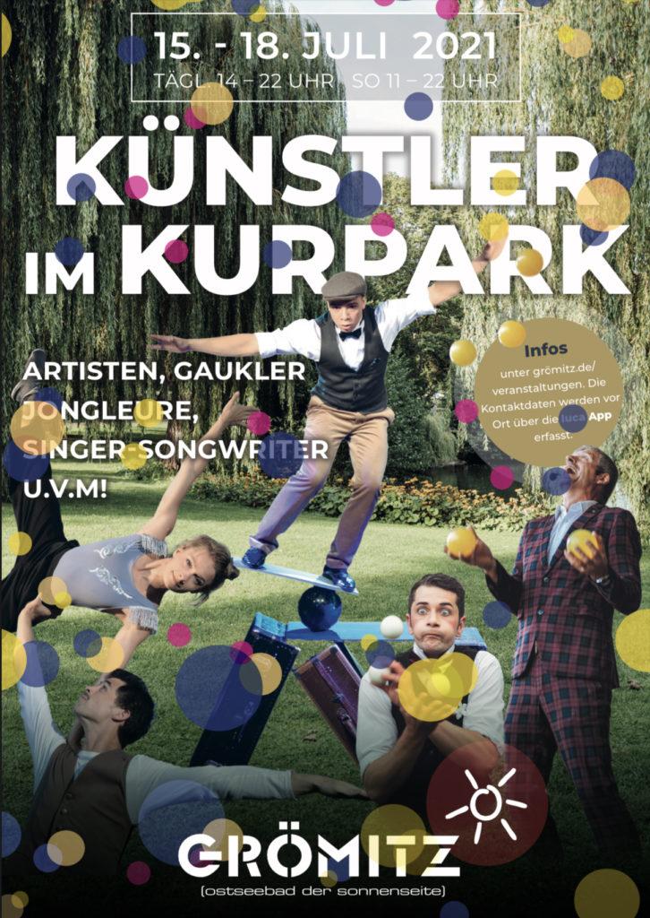 Künstler im Kurpark 2021 Grömitz